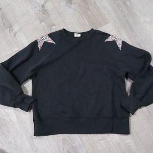 Zara Girls star sweater sweatshirt 11/12